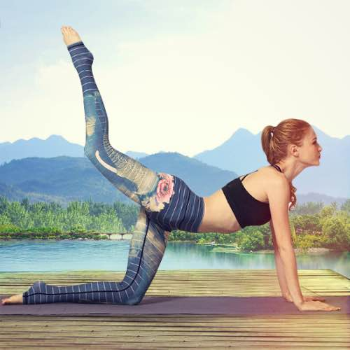 Yoga Leggings Damen